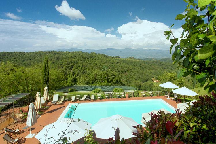 Vakantiehuis met zwembad met wifi  Figline Valdarno  Gaville Quattro