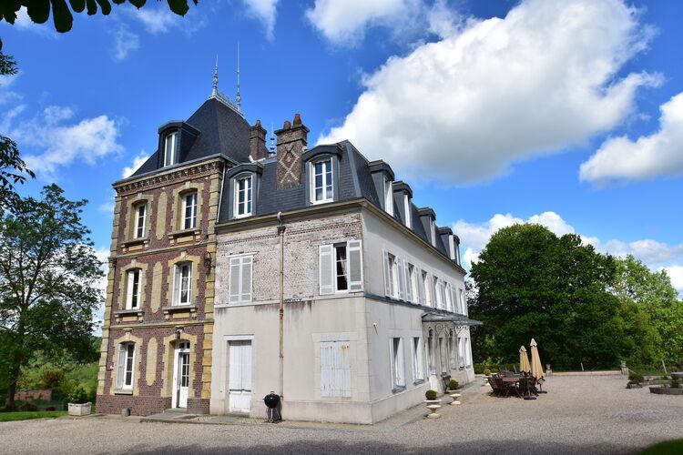 Kasteel Frankrijk, Normandie, Asnières Kasteel FR-27260-01