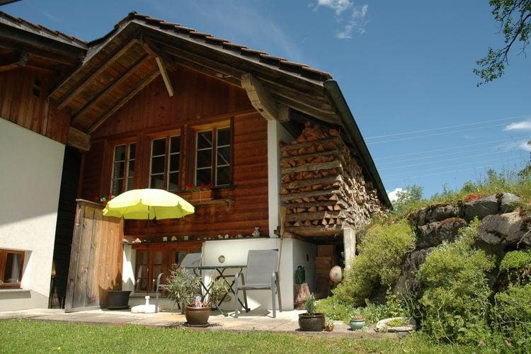 Woning Zwitserland | Bern | Vakantiehuis te huur in Kandergrund   met wifi 2 personen
