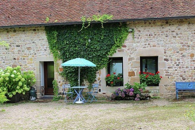 Auvergne Vakantiewoningen te huur Gîte op prachtig landgoed grenzend aan een hoeve, met paarden en groot zwemmeer