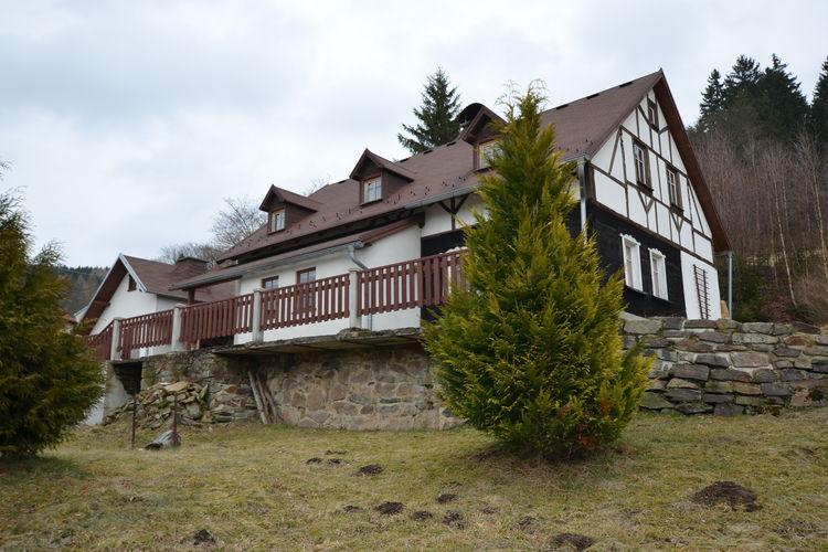vakantiehuis Tsjechië, West-Bohemen, Kraslice vakantiehuis CZ-35801-02