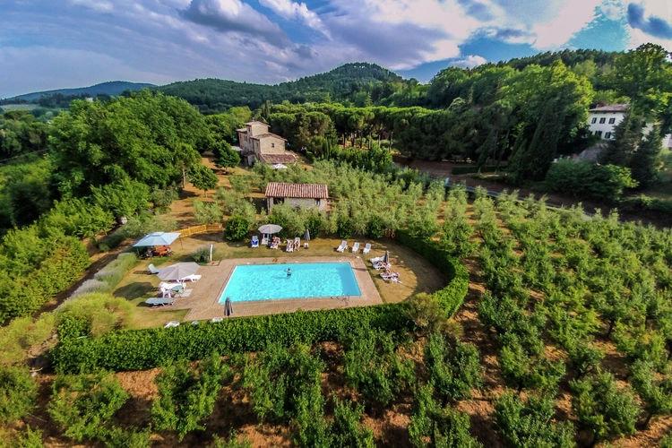 Boerderij huren in Montepulciano - met zwembad  met wifi met zwembad voor 4 personen  Deze agriturismo met 5 appartement..