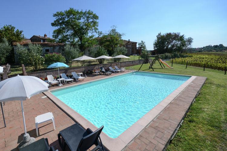 Boerderijen Italie | Umbrie | Boerderij te huur in Castiglione-del-Lago met zwembad   4 personen