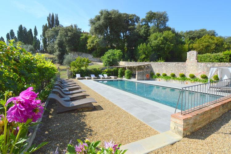 Vakantiehuis met zwembad met wifi  ToscanaFonte Lecceta