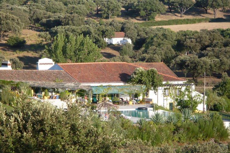 Alentejo Boerderijen te huur Deel van een quinta met gedeeld zwembad, zeer geschikt in voor- en naseizoen