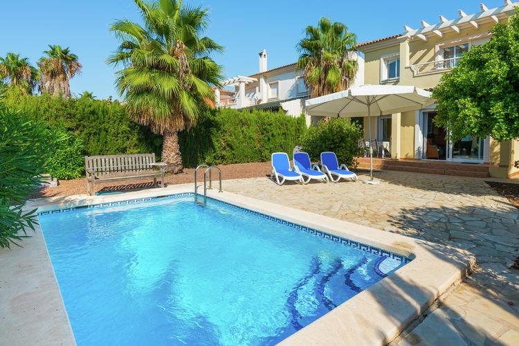 Vakantiehuizen Spanje | Murcia | Villa te huur in Baos-Y-Mendigo met zwembad  met wifi 6 personen