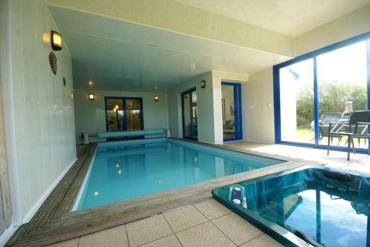 Villa met zwembad met wifi  Moëlan sur mer  Villa Goéland