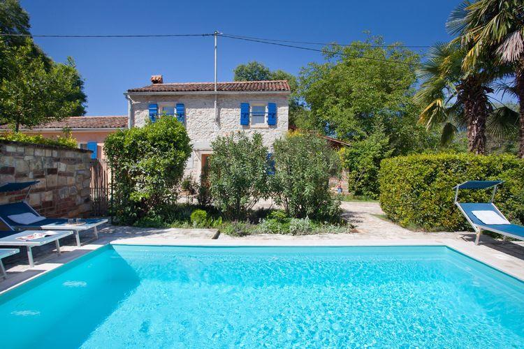 Vakantiehuizen Kroatie | Istrie | Vakantiehuis te huur in Umag met zwembad  met wifi 4 personen