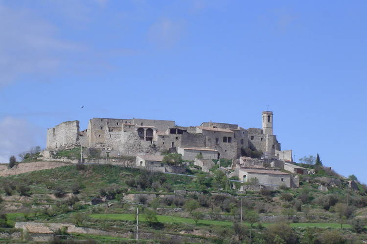 Castle Catalonia Inland Pyrenees