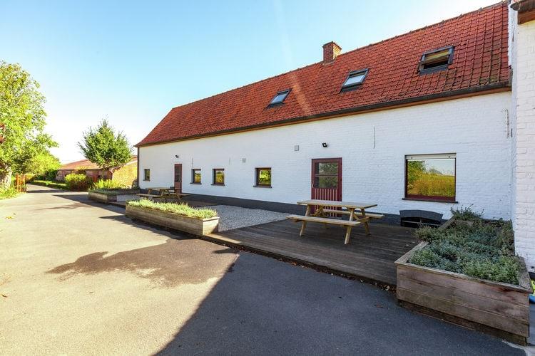 Belgie | West-Vlaanderen | Boerderij te huur in Vleteren   met wifi 4 personen