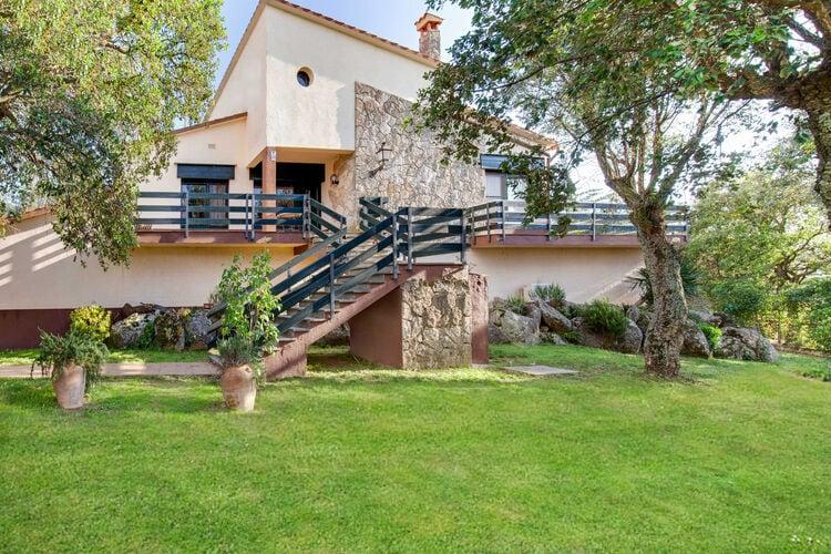 Woning Spanje | Costa-Brava | Vakantiehuis te huur in Romanya-de-la-Selva met zwembad  met wifi 4 personen