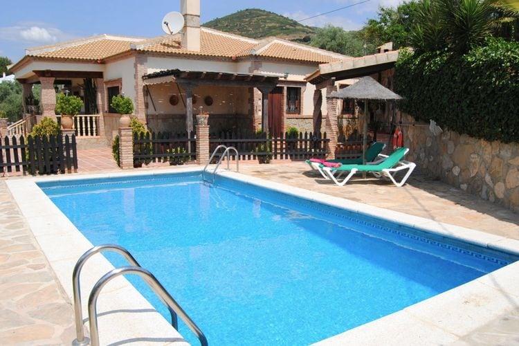Villas Spanje | Andalucia | Villa te huur in Antequera-Villanueva-de-la-Concepcion met zwembad  met wifi 7 personen