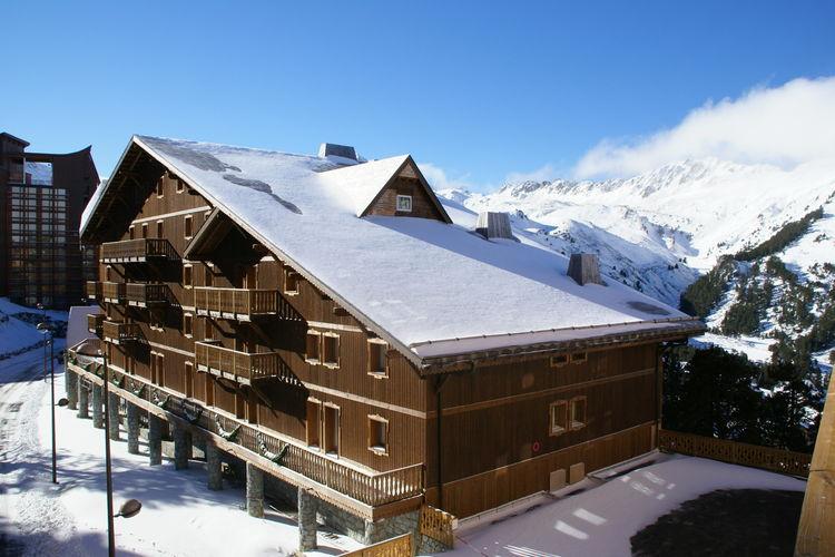 Appartement met zwembad met wifi  Les-Arcs-2000Chalet Altitude Arc 2000 1