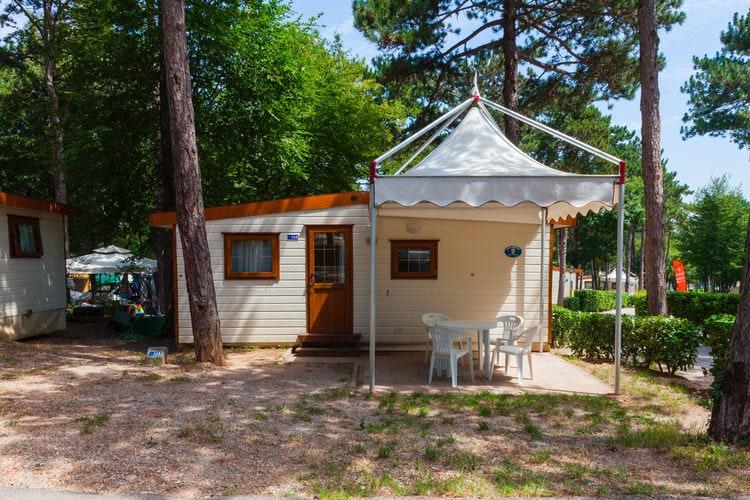 Veneto Chalets te huur Mobilhome op park aan mooie baai, 0,5 km. van strand