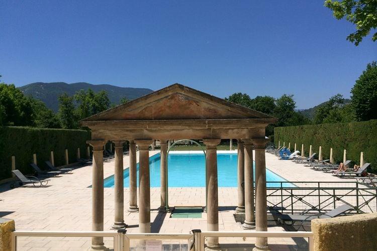 Vakantiehuizen Frankrijk | Drome | Appartement te huur in Montbrun-les-Bains met zwembad  met wifi 2 personen