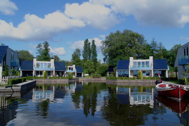 Villa  met wifi aan zee Nieuw-Loosdrecht  Bungalowpark Rien van den Broeke Village 3