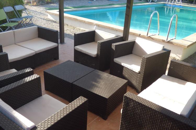 Vakantiehuizen Spanje | Catalunia | Vakantiehuis te huur in Sant-Salvador-de-Guardiola met zwembad  met wifi 4 personen