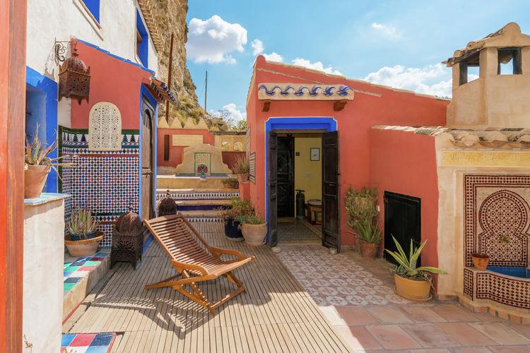 Vakantiewoning met zwembad met wifi  Cubas  Gerestaureerde grotwoning met jacuzzi, sauna en klein privézwembad in Albacete