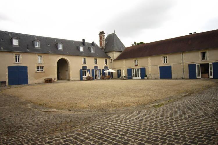 Kasteel Frankrijk, Ile-de-France, Ocquerre Kasteel FR-77440-05