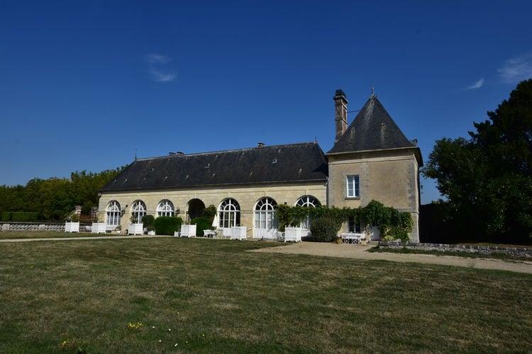 Ile-de-France Vakantiewoningen te huur Torenappartement in majestueus kasteel