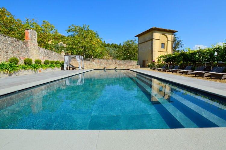 Vakantiehuizen Italie | Toscana | Vakantiehuis te huur in Rignano-sullArno met zwembad  met wifi 12 personen
