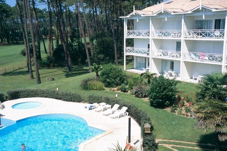 Vakantiehuizen Frankrijk | Cote-Atlantique | Appartement te huur in Moliets met zwembad   8 personen