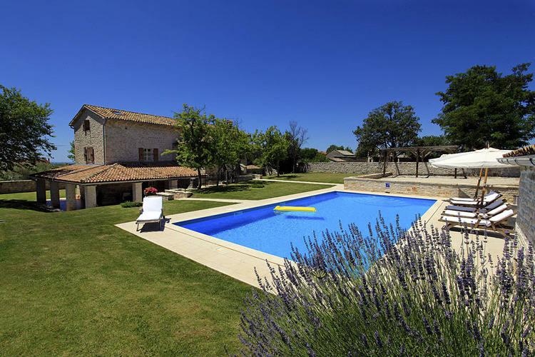 Vakantiehuizen Kroatie | Istrie | Villa te huur in Sveti-Lovrec met zwembad  met wifi 10 personen