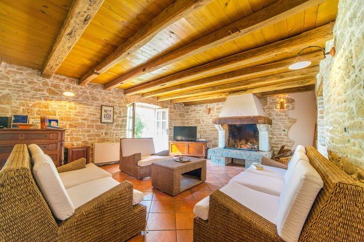 Villa Kroatië, Istrie, Sveti Lovrec Villa HR-52448-01