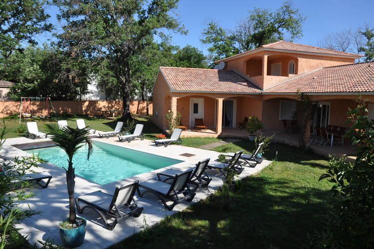 Vakantiehuizen Frankrijk | Corse | Villa te huur in Moriani-Plage met zwembad  met wifi 12 personen