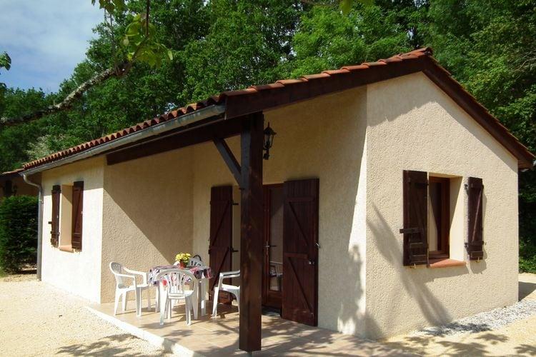 Frankrijk | Dordogne | Chalet te huur in Gavaudun met zwembad  met wifi 4 personen