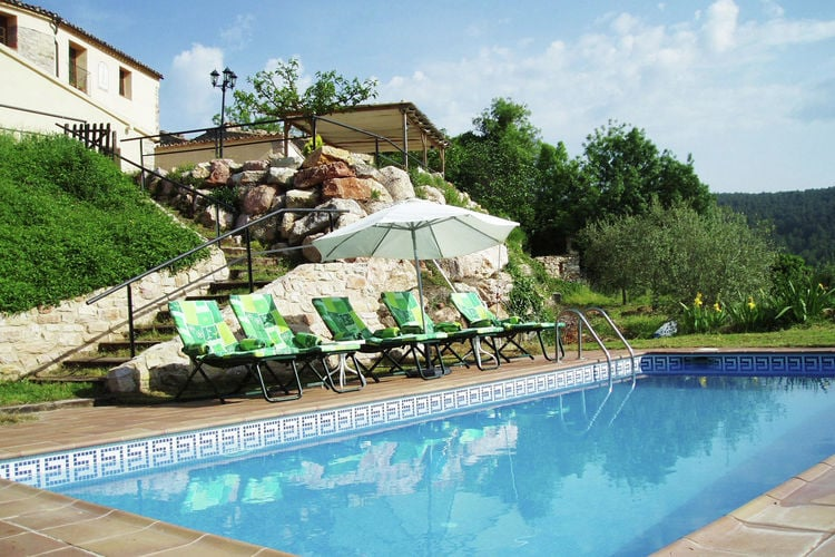 Vakantiehuizen Spanje | Catalunia | Vakantiehuis te huur in La-Llacuna met zwembad   12 personen