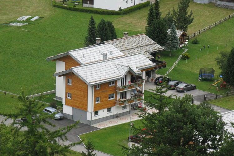 Haus Alpenstern Wohnung Älpi - Apartment - Saas Grund
