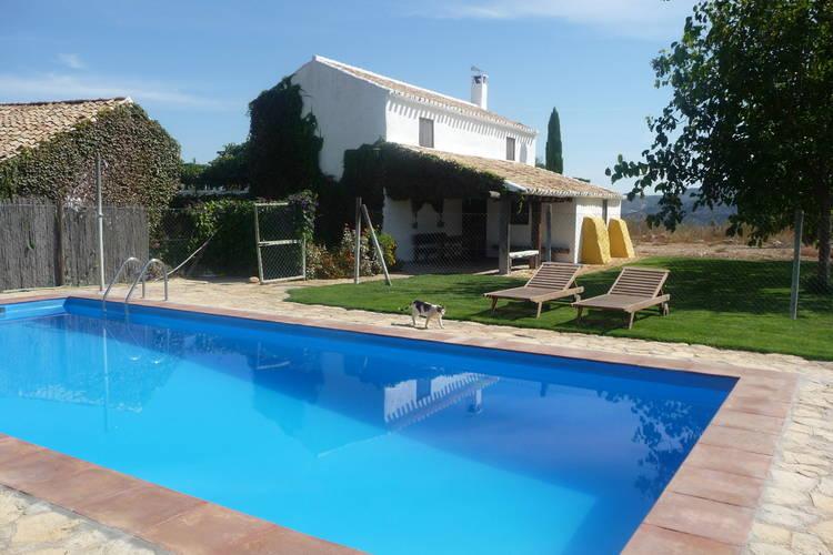 Vakantiewoning met zwembad met wifi  Fuentes de Cesna  Cortijo El Morron