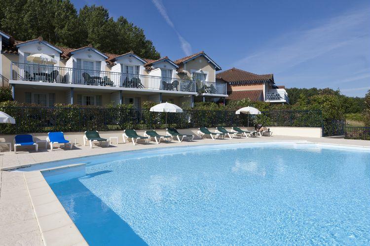 Vakantiehuizen Frankrijk | Midi-Pyrenees | Appartement te huur in Marciac met zwembad  met wifi 6 personen