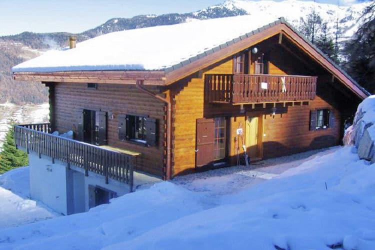 Vakantiehuizen Zwitserland | Jura | Chalet te huur in La-Tzoumaz   met wifi 16 personen
