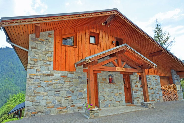 Chalet  met wifi  Champagny en Vanoise  Luxe chalet met sauna en open haard met ideale ligging