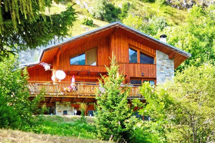 Chalet  met wifi  Champagny en Vanoise  Luxe chalet met sauna en open haard plus ideale ligging in prachtig berggebied
