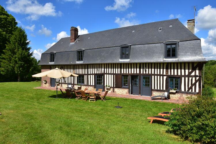 Frankrijk | Normandie | Vakantiehuis te huur in Asnieres   met wifi 13 personen