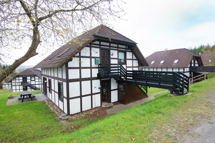 Holiday apartment Kellerwaldblick (181227), Frankenau, Waldecker Land, Hesse, Germany, picture 1