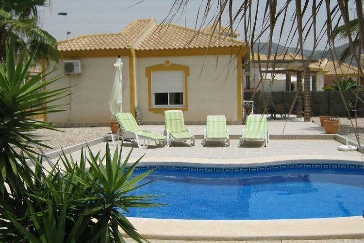 Villa met zwembad met wifi aan zee Mazarrón  Villa Costa de la Vida