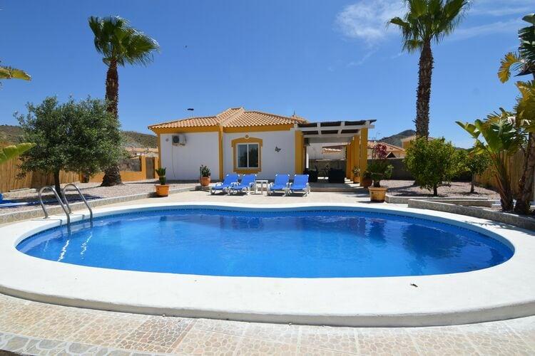 Vakantiehuizen Costa Calida te huur Mazarrón- ES-30870-11 met zwembad nabij Strand met wifi te huur