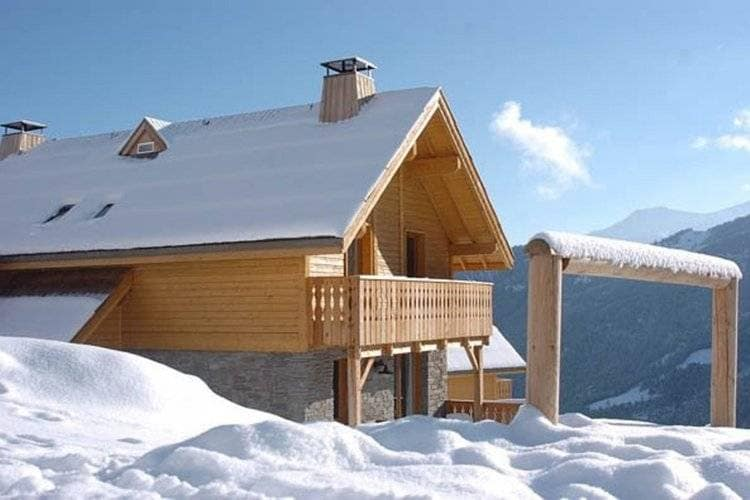 Rhone-alpes Vakantiewoningen te huur Vrijstaande chalets, met prachtig uitzicht in skigebied Espace Lumière