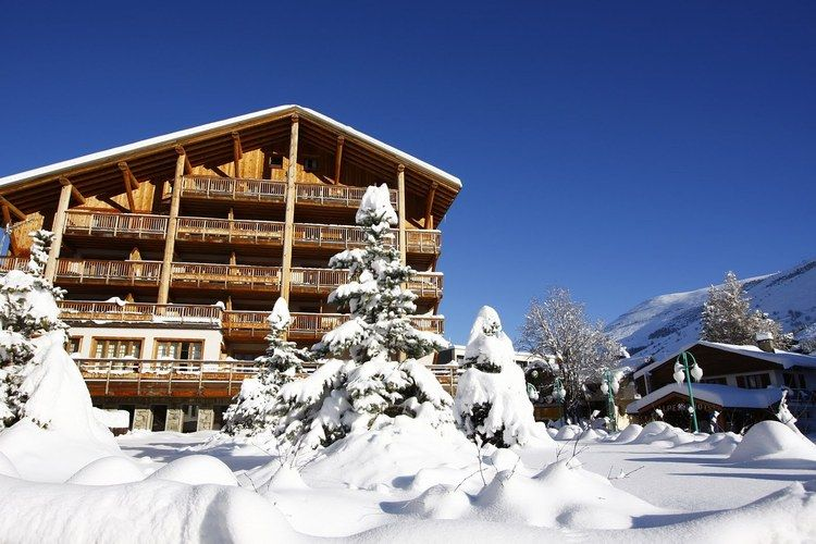 Residence Le Cortina Mont-de-Lans Northern Alps France