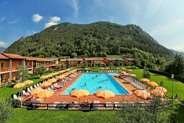 Vakantiehuizen Italie | Italiaanse-Meren | Vakantiehuis te huur in Vesio-di-Tremosine met zwembad  met wifi 3 personen