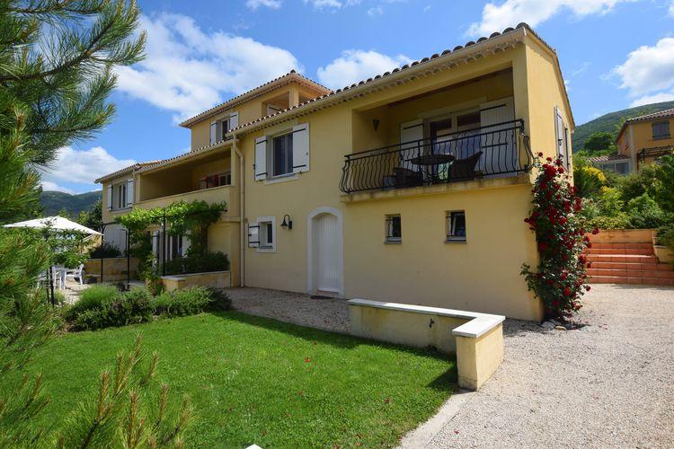 Drome Appartementen te huur Prachtig appartement met fijne tuin aan de voet van de Mont Ventoux