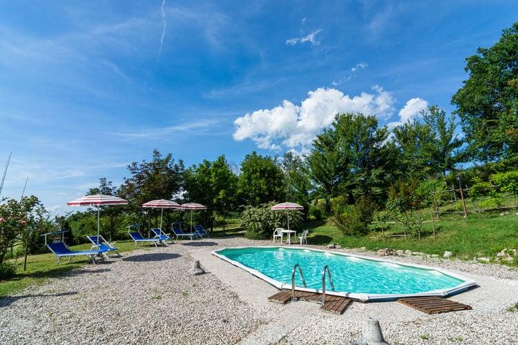 Vakantiehuizen Italie | Marche | Vakantiehuis te huur in Cagli met zwembad  met wifi 2 personen