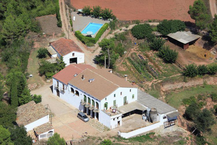 Vakantiehuis met zwembad met wifi aan zee Sant Salvador de Guardiola  Mas Set Rengs