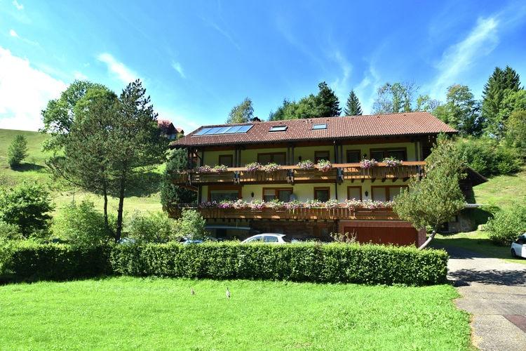 Duitsland | Baden-Wurttemberg | Appartement te huur in Baiersbronn-Obertal   met wifi 2 personen