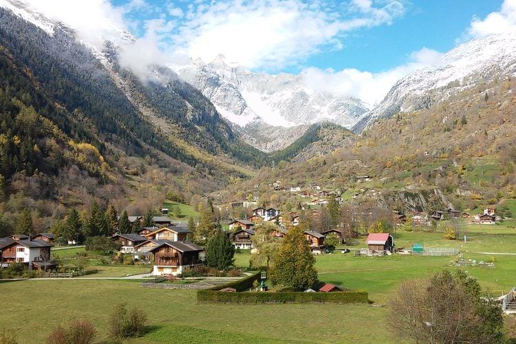 Appartement Zwitserland, Jura, Fieschertal Appartement CH-3984-19