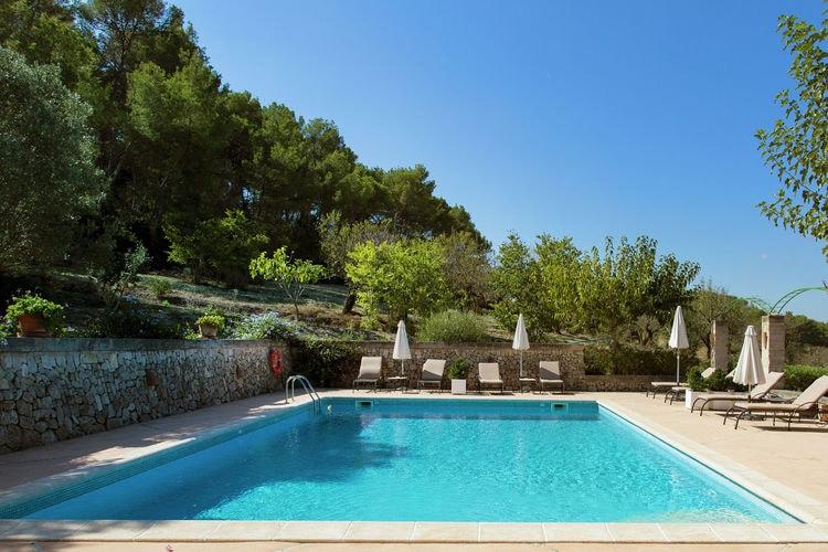 Vakantiehuizen Mallorca te huur Lloret-de-Vistalegre- ES-07158-01 met zwembad  met wifi te huur